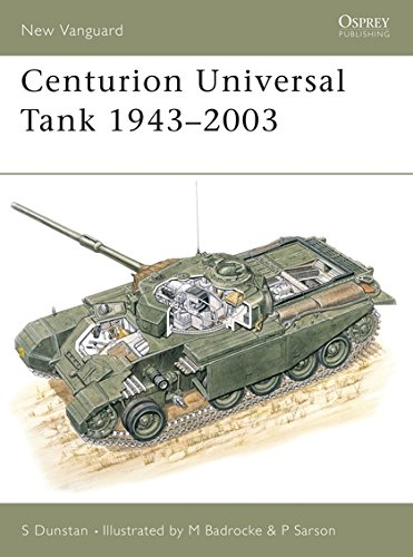 Centurion Universal Tank 1943–2003 (New Vanguard)