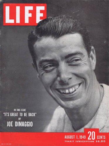 Joe DiMaggio 1949 Life Magazine - Sports Memorabilia