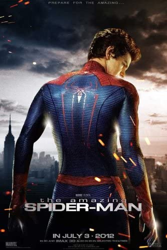 Amazon Com The Amazing Spider Man 2012 11 X 17 Movie Poster Style F Prints Posters Prints
