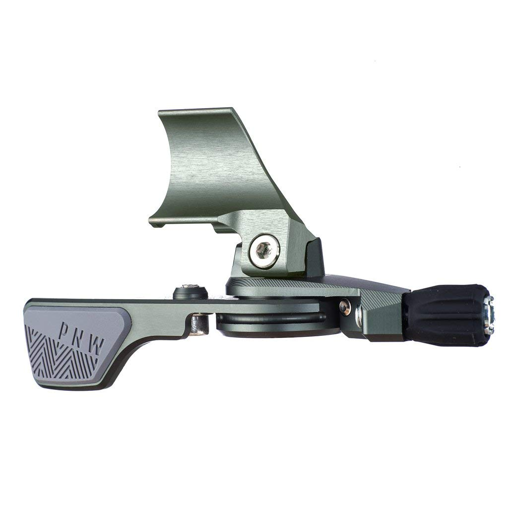 PNW Components Loam Lever Dropper Remote (Grey/Grey, ISpec II Clamp)