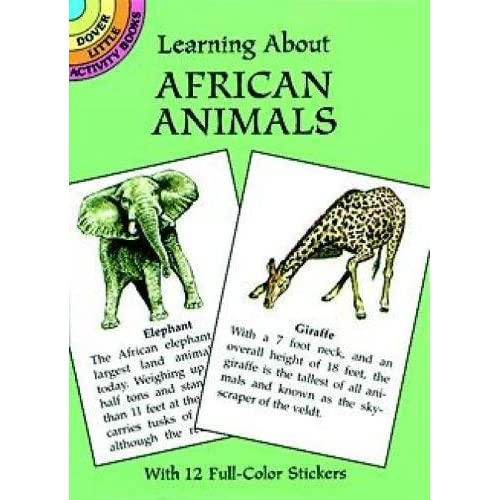 Books About African Animals Amazon Com