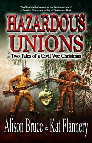 A cozy and heartwarming historical fiction novel! Follow two sisters as they struggle for respect, survival and love during Civil War…  Hazardous Unions: Two Tales of a Civil War Christmas by Alison Bruce & Kat Flannery