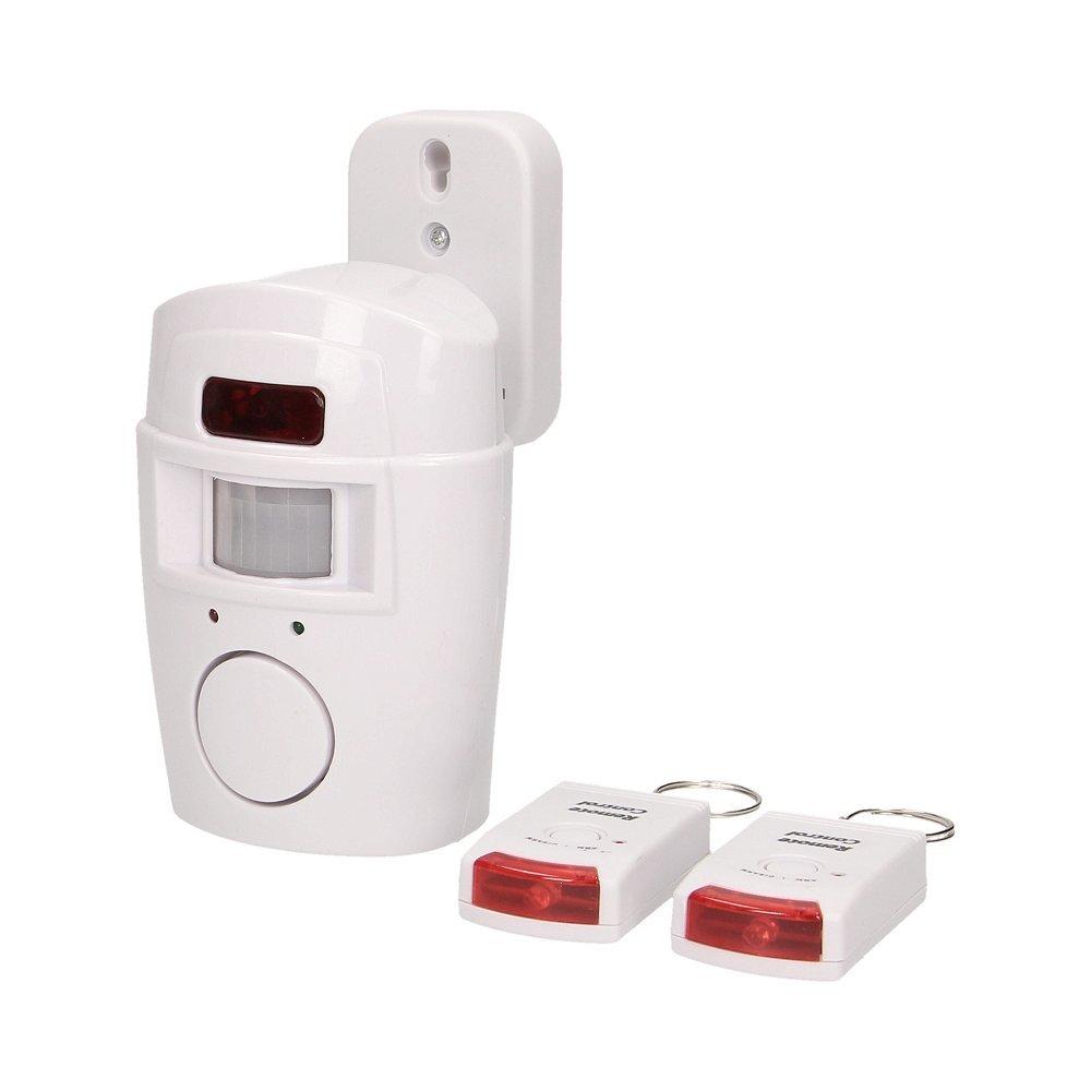 ORNO Hausalarm Alarm mit Bewegungsmelder Sirene PIR 2 IR-Fernbedienung Alarmanlage