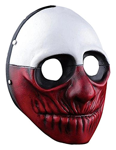 [Maze Eclectic Grotesque Evil Clownish Villains Full Face Resin Horror Masks, Wolf One Size] (Homemade Wolf Costumes For Kids)