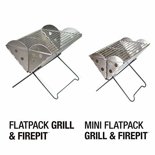 UCO Flatpack Portable Stainless Steel Grill and Fire Pit by Grilliput (Image #6)
