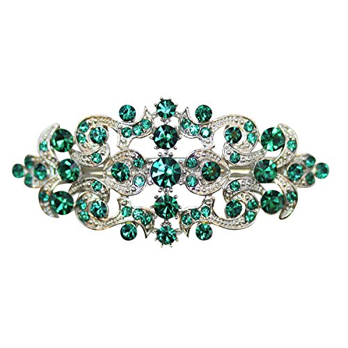 Faship Gorgeous Green Hair Barrette by Faship