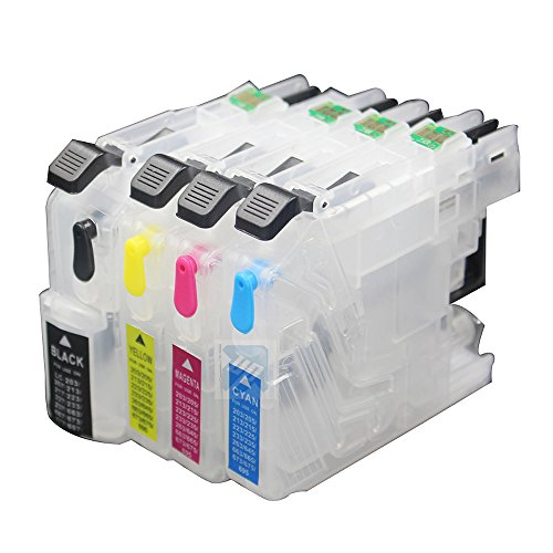 UniPrint LC223 Empty refillable ink cartridge for brother DCP-J562DW MFC-J480DW J680DW J880DW MFC-J5320DW MFC-J5625DW printer with ARC chip