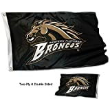 College Flags and Banners Co. Western Michigan Broncos Double Sided Flag