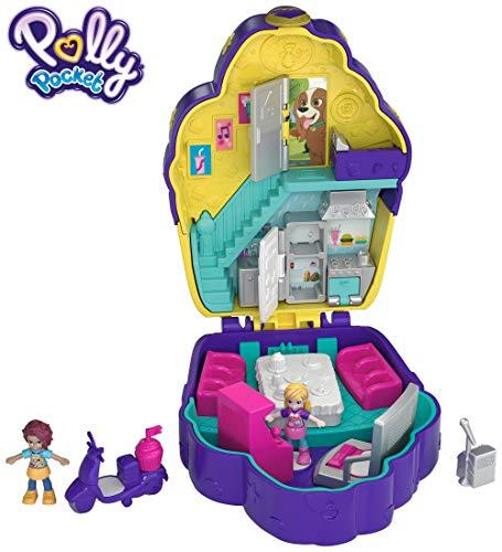 Polly Pocket Big Pocket World, Cupcake (Polly Pocket Pool Party On The Go)