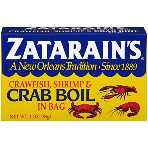 ZATARAIN'S Crab Boil Seasoning In Bag, 3 Ounce (Pack of 6)