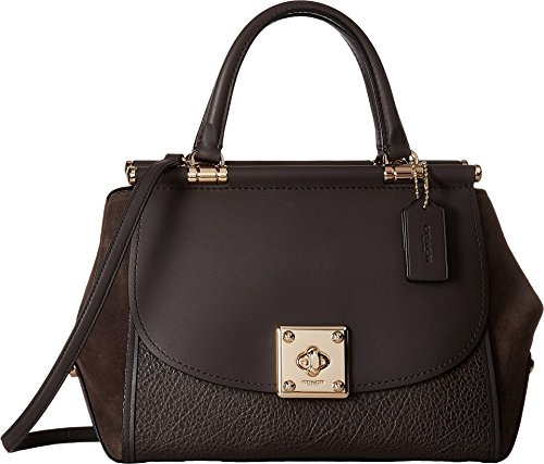 COACH Women's Mixed Leather Drifter Carryall Li/Chestnut One Size by Coach