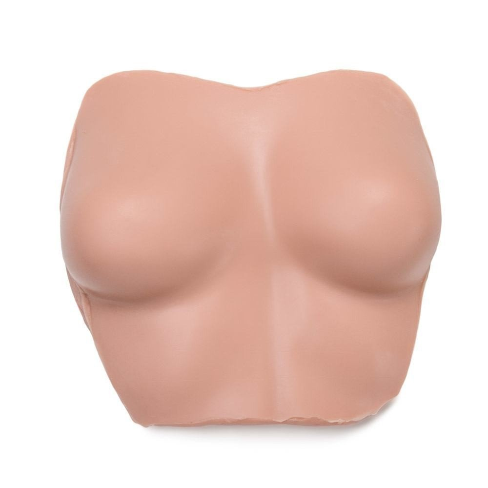 Practice Tattoo Breast Silicone Fake Breast With Torso for Display Professional Quality