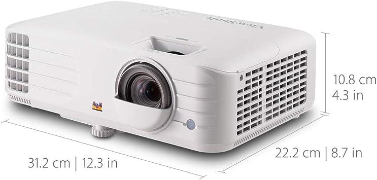 Viewsonic Px703hd 3d Heimkino Dlp Beamer Full Hd 3 500 Ansi Lumen 2x Hdmi 10 Watt Lautsprecher 1 3x Optischer Zoom Weiß Heimkino Tv Video