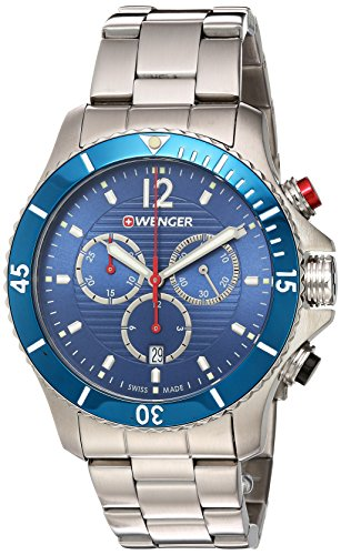 Wenger-Mens-Seaforce-Chrono-Swiss-Quartz-Stainless-Steel-Casual-Watch-ColorSilver-Toned-Model-010643111