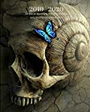 2019 - 2020 | 18 Month Weekly & Monthly Planner July 2019 to December 2020: Skull Snail Blue Butterfly Fantasy Vol 18  Monthly Calendar with U.S./UK/ ... Holidays- Calendar in Review/Notes 8 x 10 in.