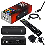 MAG 254 Original IPTV SET TOP BOX Multimedia Player Internet TV IP Receiver + Großer WLAN Stick + HB Digital HDMI Kabel