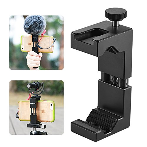 Ulanzi ll065 Metal Phone Tripod Mount with Hot Shoe Mount Iron Man 2 Pro Smartphone Holder Video Rig Tripod Mount (Hot Rigs)