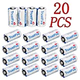 X.Store Trustfire 20 Pack CR 123 3V Lithium CR123A CR123 Batteries for Camera