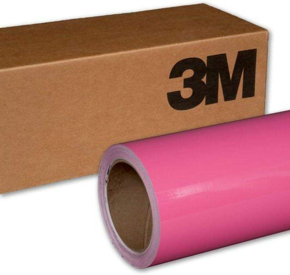 5 Sq//ft Car Wrap Vinyl Film 3M 1080 G103 Gloss HOT Pink 5ft x 1ft