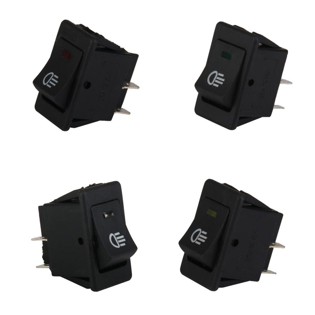 4 Terminal Over 100A 24V Battery Isolator Relay On//Off Car Power Switch