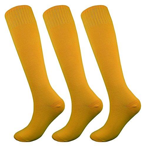 Fitliva Tube Dresses Soft Fancy Design Sports Baseball Sports Wear - Gold Orange