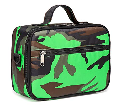 Kids Insulated Lunch Bags for Boys Girls Camouflage Lunchbox for School Outdoor Camping Food Cooler -