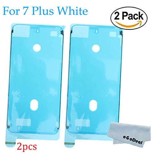 Ogodeal iPhone 7 Plus Screen Adhesive LCD Screen Front Housing Frame Waterproof Pre-Cut Seal Adhesive Strips Stickers, Water Liquid Damage Repair Adhesive Glue Replacement (iphone 7 plus (Lcd Screen Damage)