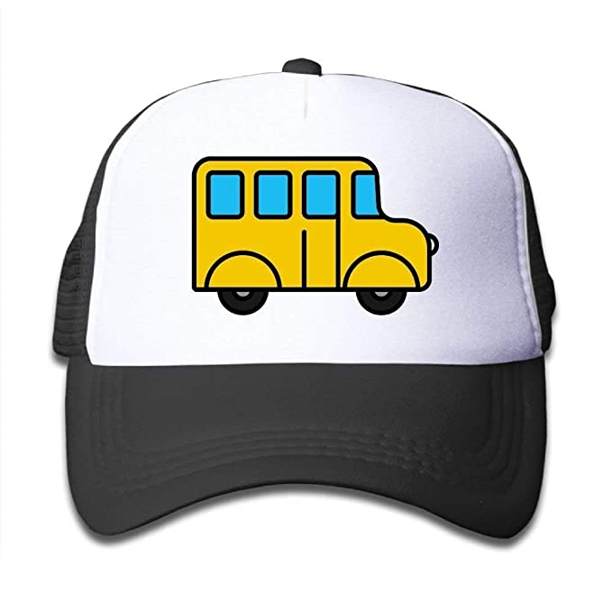 da96eba89bb Cutee School Bus Cartoon Kids Mesh Hat Baseball Caps Children Grid Hat  Trucker Cap Boys Girls at Amazon Women s Clothing store