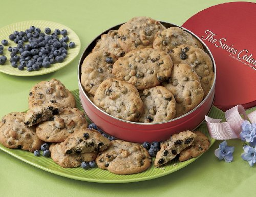 Blueberry Pecan Cookies from The Swiss (Pecan Cookie Basket)