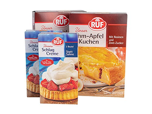 Kaffeetafel A 2x Ruf Schlagcreme 2er Pack 2x40g Und 2 X Ruf Rahm