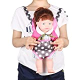 Huang Cheng Toys For 10-11-12'' Baby Doll Carrier Storage Bag Backpack Portable Bag Doll Accessories