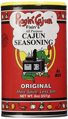 Ragin Cajun Fixins Cajun Seasoning, 8-Ounce (Pack of 3) ()