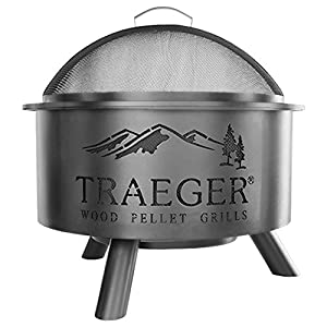 Traeger OFP001 Outdoor Fire Pit, Large, Black made by  epic Traeger
