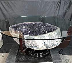 Magic Mineral Stones Amethyst Table