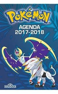 pokémon - agenda 2017-2018 - broché