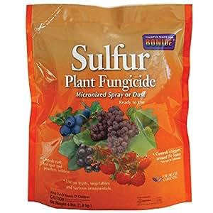 Bonide PRODUCTS INC 142 Sulphur Dust Fungicide, 4-Pound