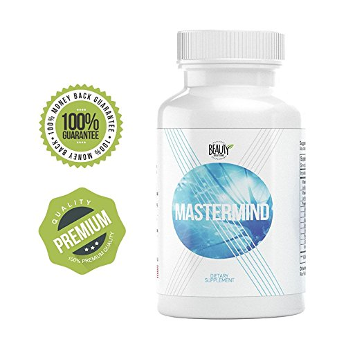 Mastermind | Improved Concentration | Elevated Brain Performance | Clear Mental Vision | Lucid Dreams | Higher Energy Levels | Less Fatigue | Reduce Psychological Stress | Mind & Memory Pills | by Apex