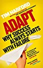 Adapt: Why Success Always Starts With Failure price comparison at Flipkart, Amazon, Crossword, Uread, Bookadda, Landmark, Homeshop18