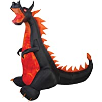 Fire and Ice Dragon Airblown Halloween Decoration Deals