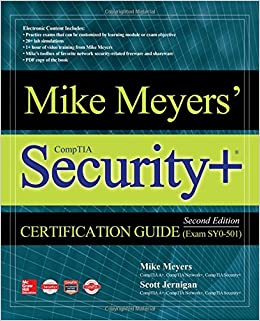Mike Meyers Comptia Security Certification Guide Second