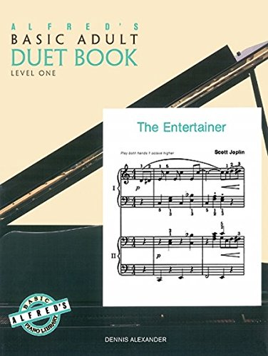 Basic Piano Duet Book - Alfred's Basic Adult Duet Book, Level 1