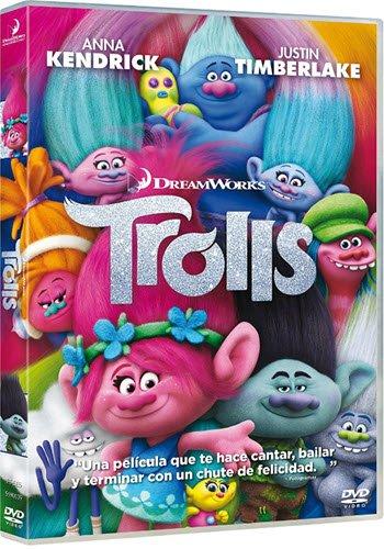 Trolls (DVD, 2016) Animation Movie Kids