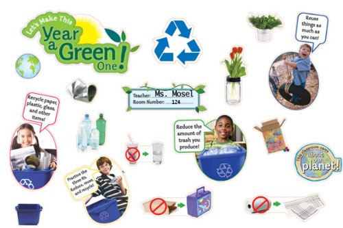 Let's Make This Year a Green One! Bulletin Board Set (Bulletin Board Sets) PDF