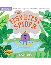 Indestructibles: The Itsy Bitsy Spider: Chew Proof · Rip Proof · Nontoxic · 100% Washable (Book for Babies, Newborn Books, Safe to Chew)