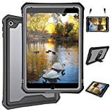iPad Mini 5 Case - Waterproof Case for iPad Mini 5 Full Body Bumper Case with Built in Screen Protector Drop Proof Anti Scratch Anti Shock Clear Case Cover for iPad Mini 5 7.9' 2019