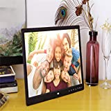 15 inches Digital Photo Frame 15'' HD 1400 * 900 Wide Screen Touch Screen Button MP4 Movie Player Clock Calendar Picture Frame