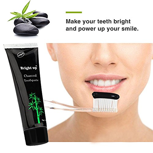 Large Product Image of Holisouse Teeth Whitening - Activated Charcoal Toothpaste Teeth Stains&Smoke Stains Remover Clean Bright Teeth and Keep Fresh (1 PACK)