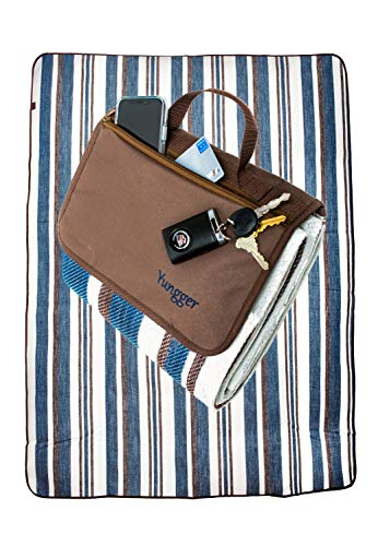 YUNGGER Extra Large Picnic Blanket-Camping Beach Outdoor-Mat-Water Resistant Bottom-Multipurpose for Family and Babies-Also for Grass-Sand-Festivals Stadium Concerts-Tailgate Sports Baseball Soccer