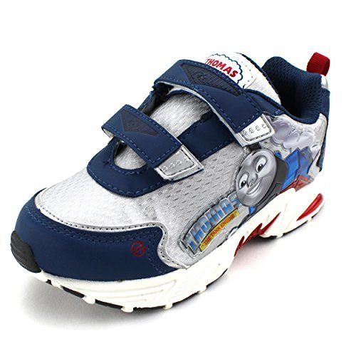Train Apparel (Thomas the Tank Engine Kids Light Up Sneakers (9 M US Toddler))