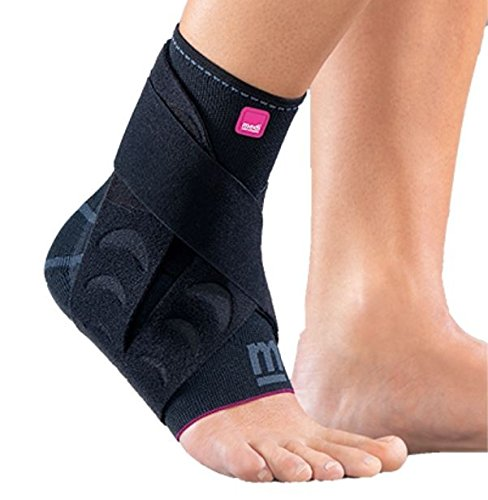 Medi Levamed Active Knit Ankle Support Right (Black) Size 1 by Medi Ortho (Image #1)